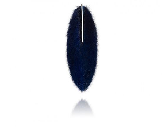 tundra brooch blue