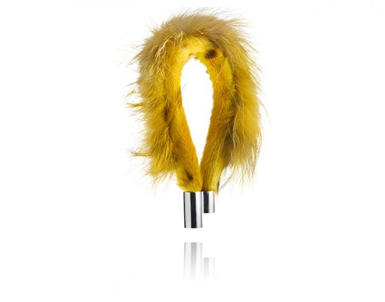 tundra necklace yellow