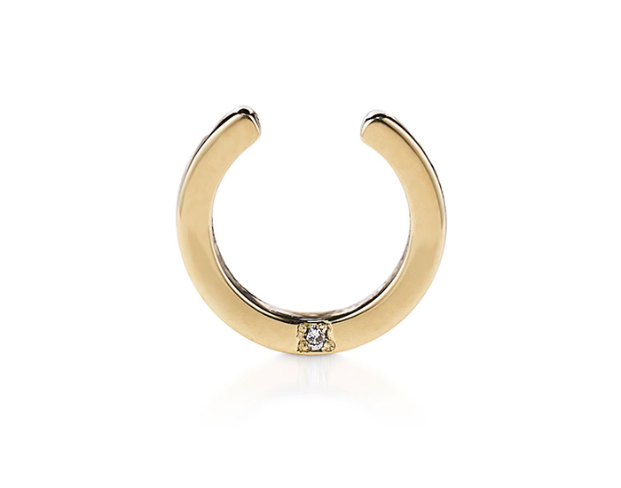 Arc&Line nose ring